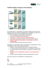 CCNA3 Chap3 practice testanswers