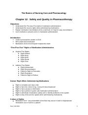 Kee- Ch 12  Safety and Quality(1)