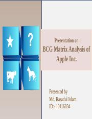 bcg-matrix- Rashed