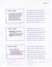 Effective Teaching Notes  3