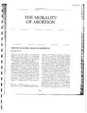 Morality of Abortion_Pope John Paul II