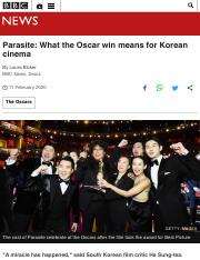 Parasite: What the Oscar win means for Korean cinema - BBC News.pdf