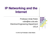 Section 7- TCP, IP and the Internet
