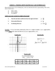 1 Finding Limits Graphically and Numerically Student.pdf