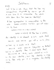Homework 1 Solution on Abstract Algebra