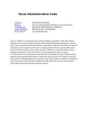 Texas Administrative Code Rule 501.61