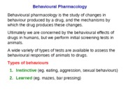 Lecture-27 Behavioural Pharmacology I (1)