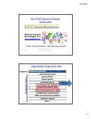 Lec 29 - human genome browser tips - 2 slides per page