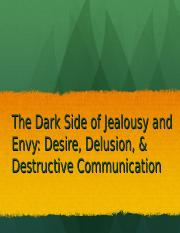Jealousy and Envy.ppt