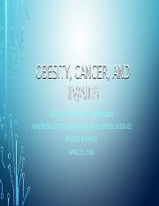 P3IP obesity cancer HIV AIDS.pptx