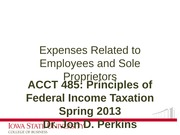 08_Expenses Related to Employees and Sole Proprietors