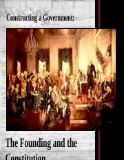 03. The Founding and the Constitution