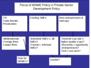 A Policy Framework for Entrepreneurship SMEs - Korea