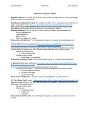 Sample Informative Speech Outline.docx