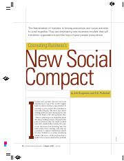 Cocreating businesss new social compact (HBR-2007)
