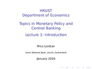 topics - lecture 1
