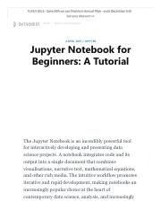 Jupyter Notebook for Beginners_A Tutorial.pdf