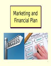 4th Chapter Marketing Research and Financial Plan.ppt