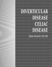 Diverticular disease and celicac disease STUDENT.pptx