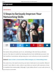 5 Steps to Seriously Improve Your Networking Skills.pdf
