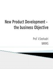 1. Business Objective - NPD –.pptx