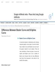 Difference Between Bezier Curve and B-Spline Curve.pdf