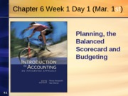 Chapter 6 Week 1 Day 1 Spring 2010 Revised