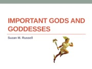 Cultural Foundations Important Gods and Goddesses Notes