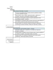 Rubric Case Study Analysis Part II STAT220