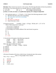 Chapter 6 Practice Quiz Parts  A and B