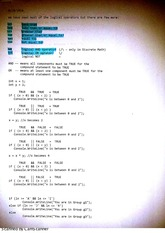 Logical Operators Class Notes (1)