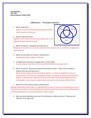 Utilitarianism Discussion and Study Questions BBSE
