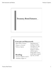 Treasury bond futures trading strategy