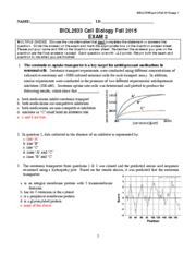 Fall 2015 exam 2 Key