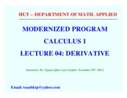 Y Cal1 Lec 04 Derivative TIE1