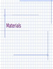 Materials Planning & Control