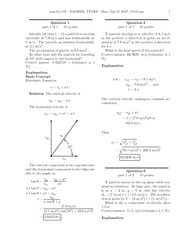 Practice 03 Solutions