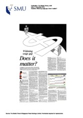 Straits Times - Inequality in Singapore (11 Dec 10)