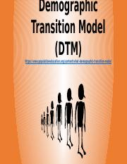 Demographic Transition Model 2016.pptx