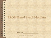 PROM Based Synch Machines