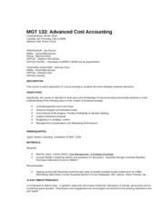 MGT 133 Syllabus Winter 2014