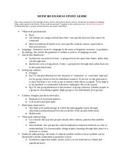 ANTH 303 EXAM #2 STUDY GUIDE.docx