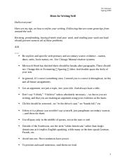 Hints for Writing Well.docx