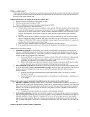 Social Protection Midterm Study Guide