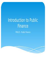 Chapter1_Introduction to Public Finance