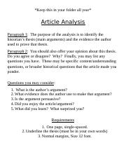 Article Analysis.docx