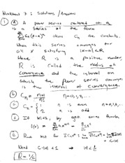 worksheet solutions 7
