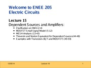ENEE205 Fall2013 Lecture15 Gomez