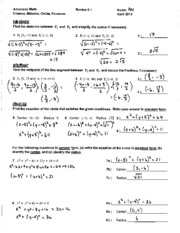 Algebra 2 assessment book big ideas learning answers