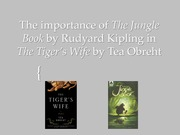 """The Tiger's Wife"" Project Example"